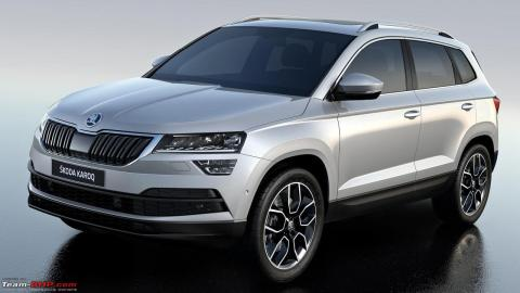 skoda karoq launch in h1 2020 mid size suv by mid 2021